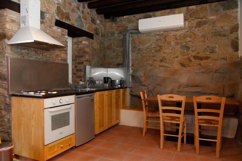 Farmakas Village Covo Retreat - Kitchen Area